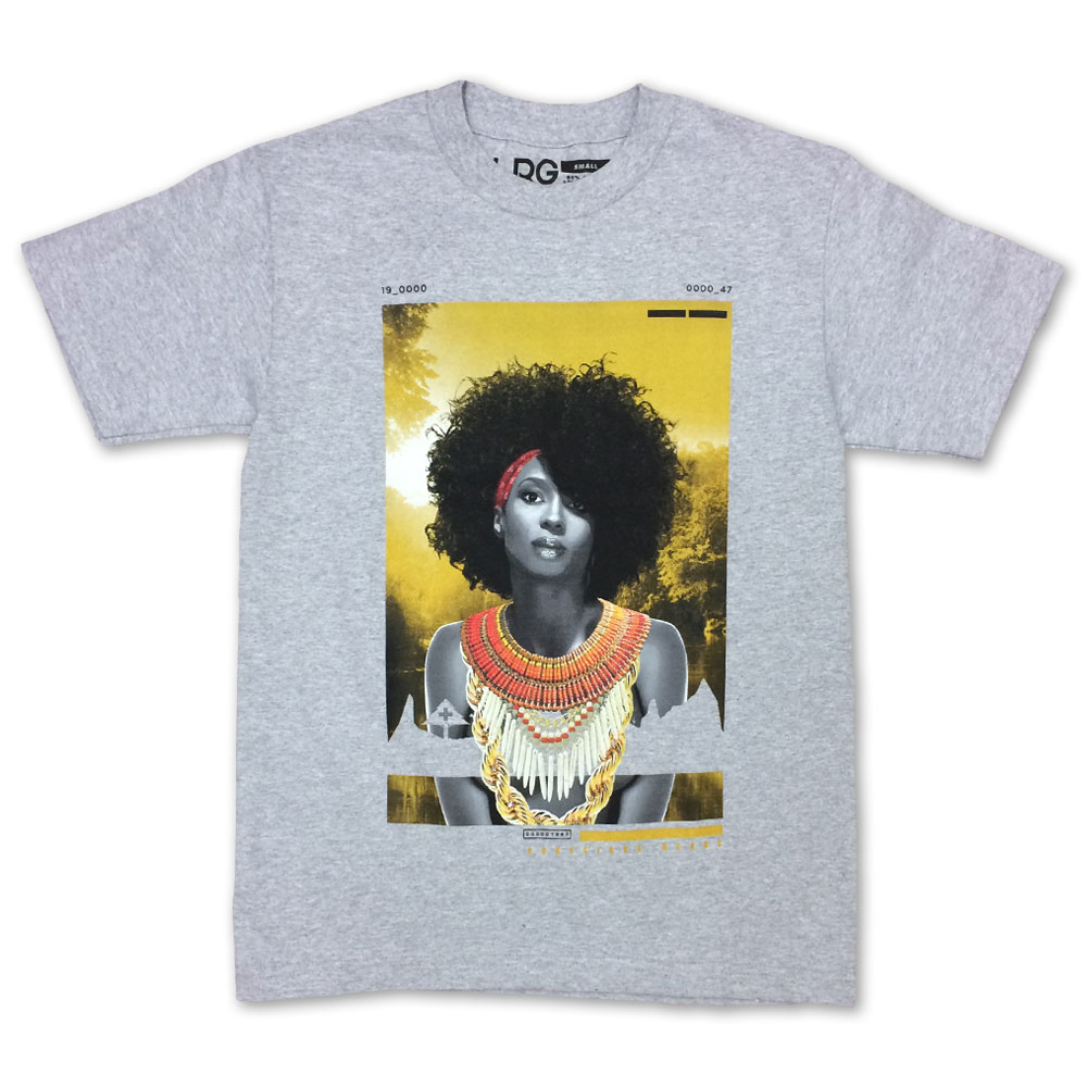 LRG Conscious Heads T-Shirt Ash Heather