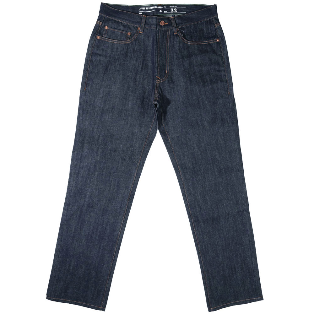 Lrg RC C47 Denim Jeans Raw Indigo