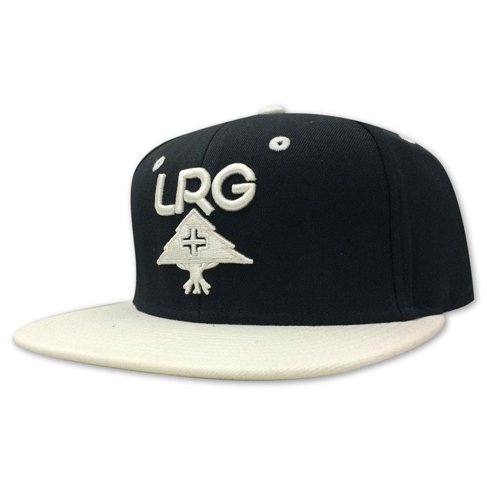 Lrg Research Group Snapback Hat Black