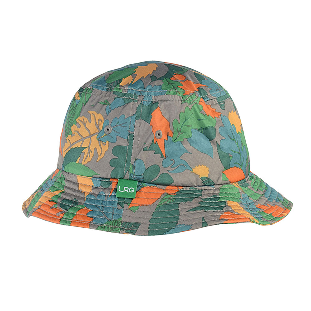 LRG Shell Leaf Bucket Hat Shell Camo