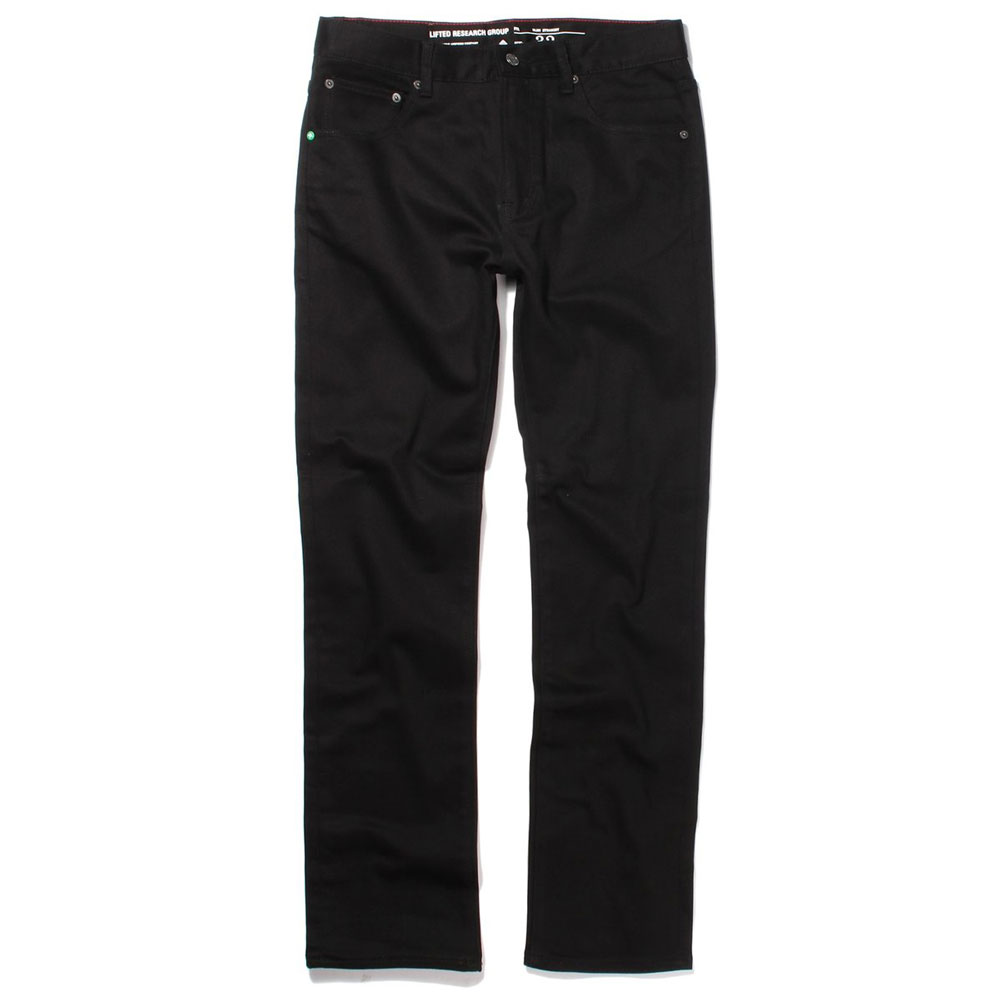 Lrg RC Slim Straight Fit Jeans Triple Black