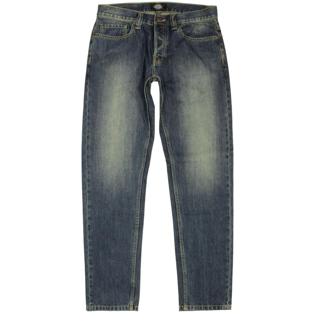 Dickies North Carolina Men's Regular Fit Tapered Jeans Antique Wash