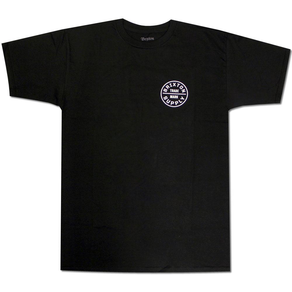 Brixton Oath T-Shirt Black