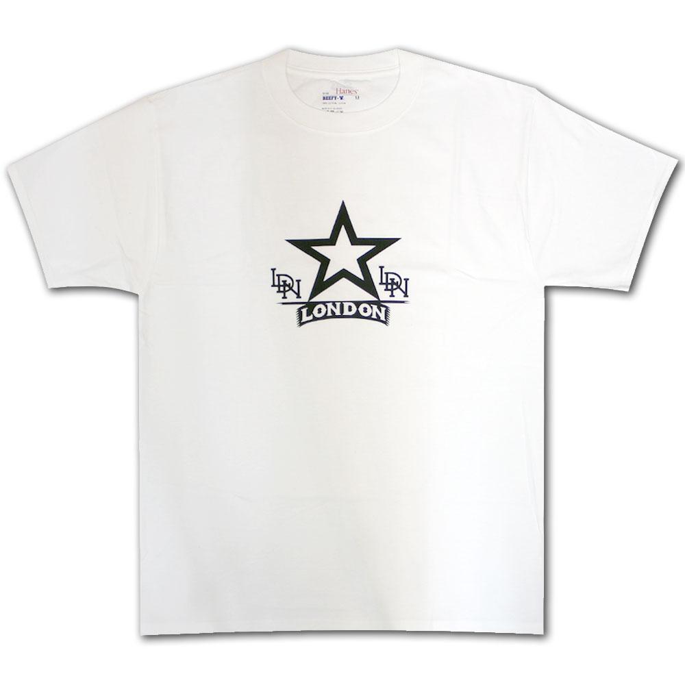 LDN One A Week T-Shirt White Black
