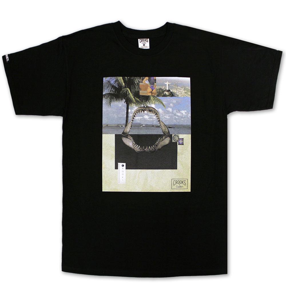 Crooks & Castles Paradiso T-shirt Black