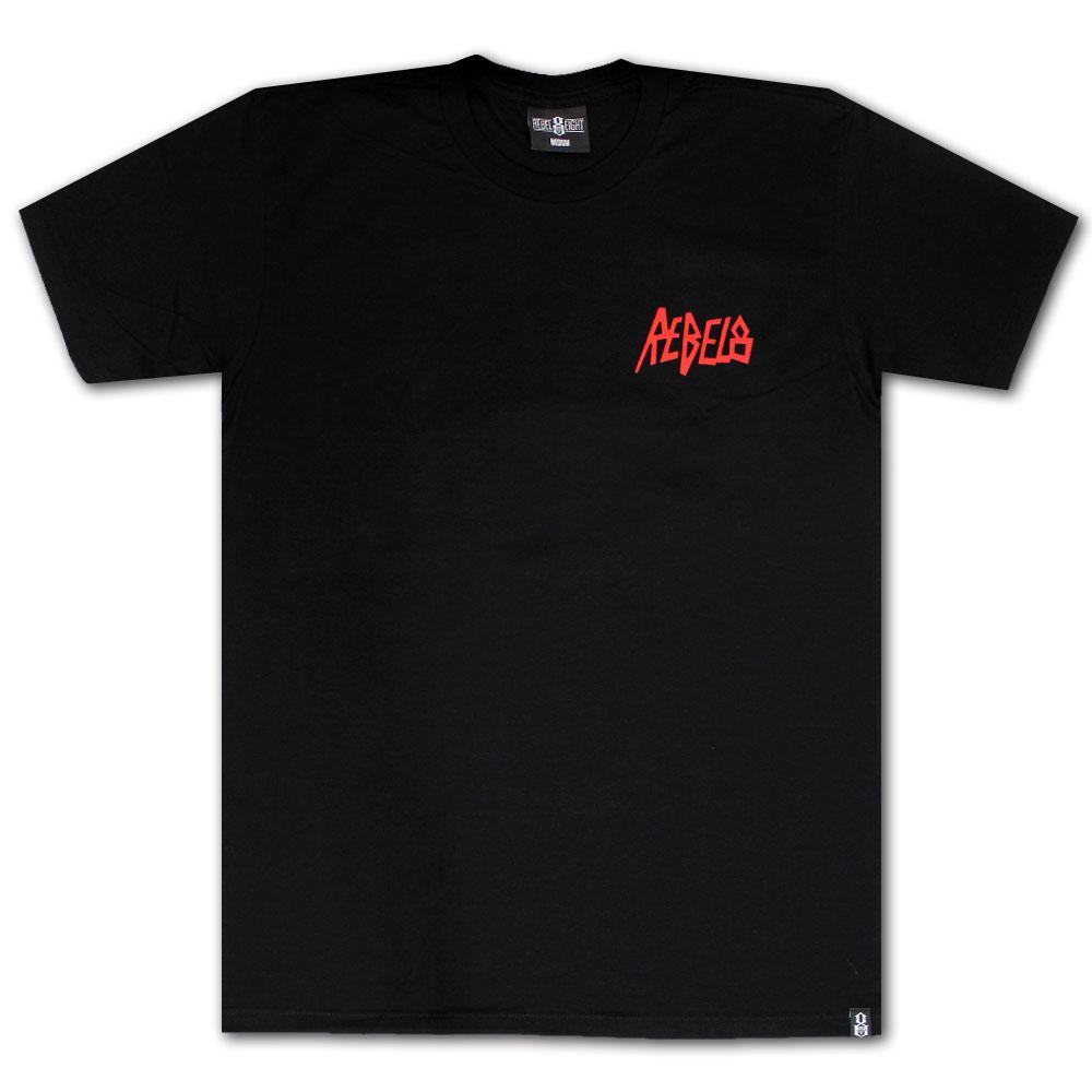 Rebel8 Post Mortem Soft T-shirt Black