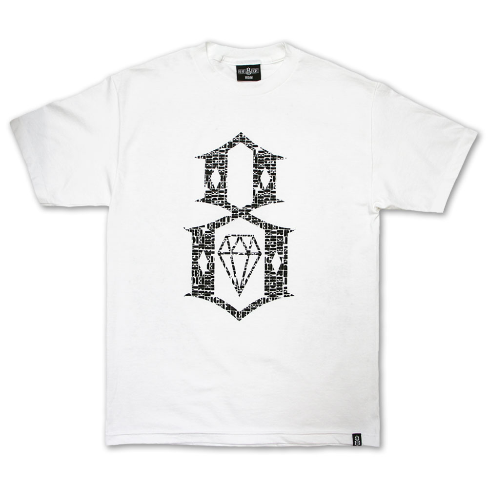Rebel8 Overspray T-shirt White