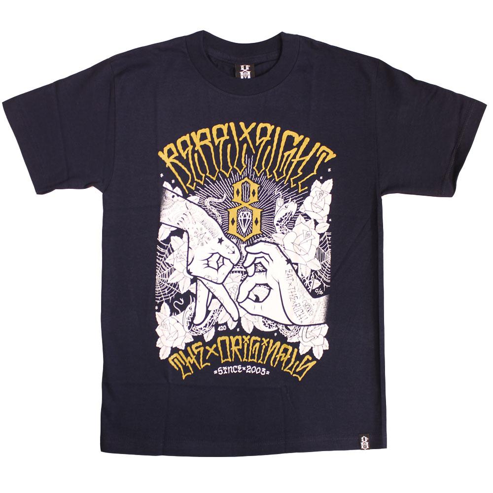 Rebel8 Hand Signs T-shirt Navy