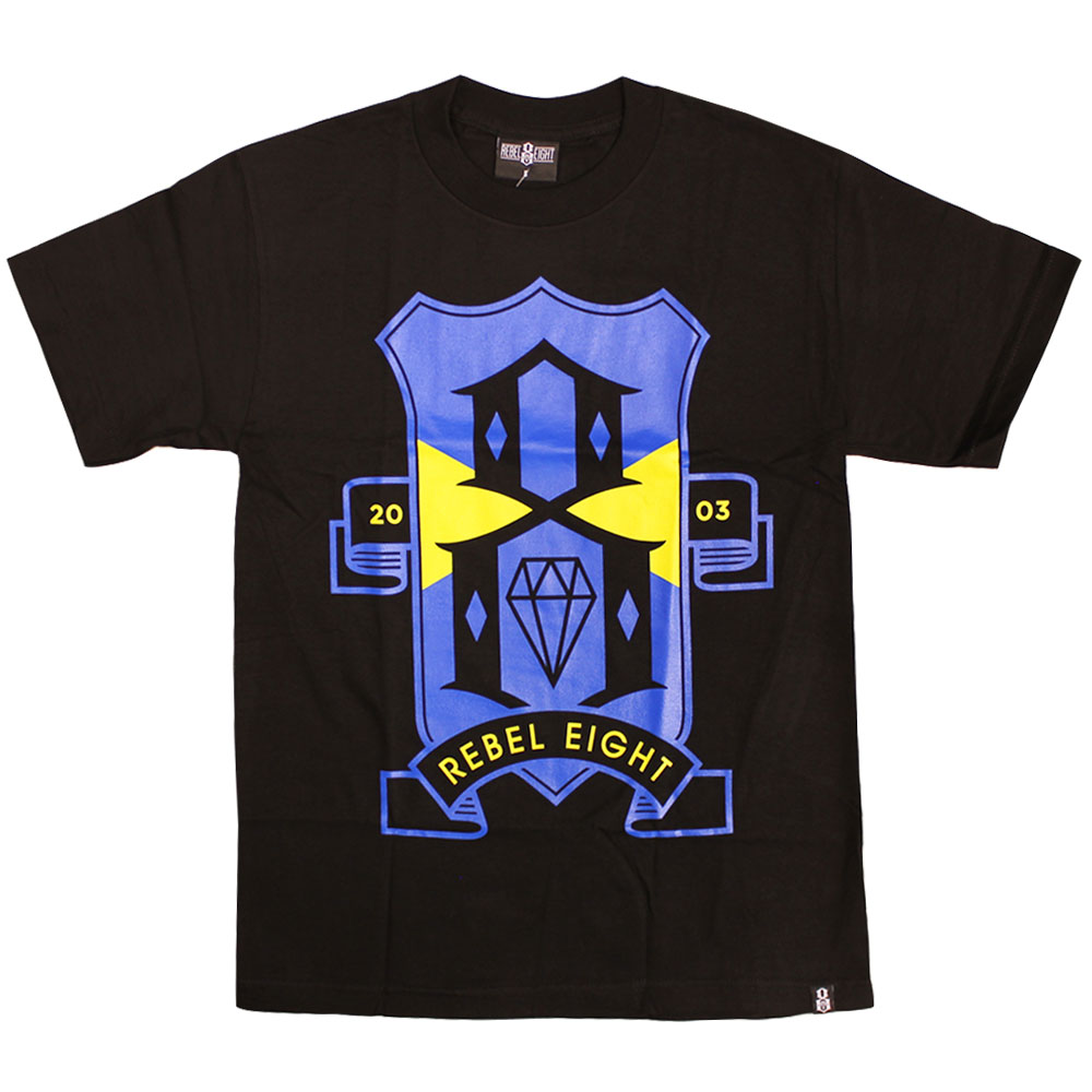 Rebel8 R8FC T-shirt Black