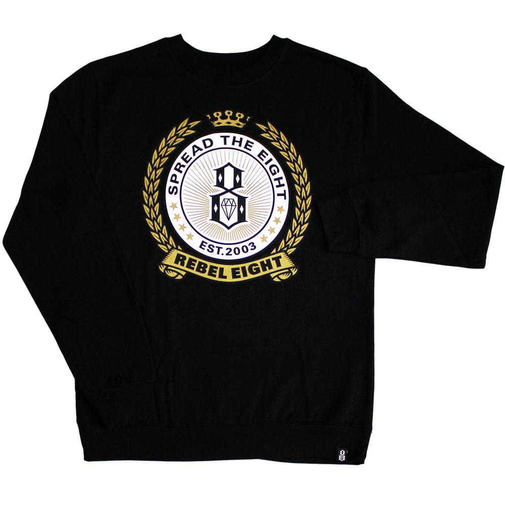 Rebel8 Spread the 8 Hops Sweatshirt Black
