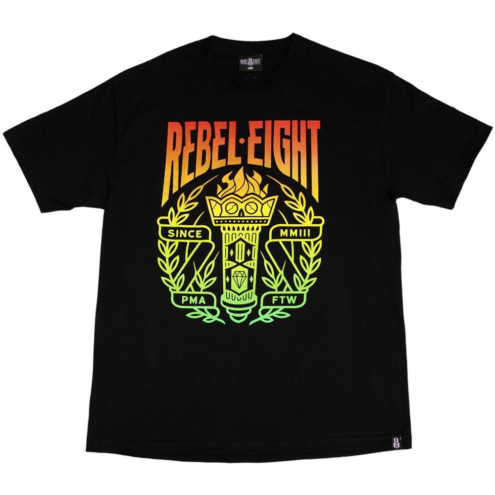 Rebel8 Torch T-shirt Black