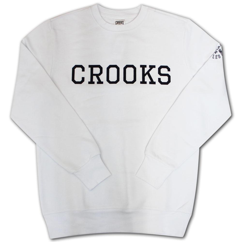 Crooks & Castles Repps Sweatshirt White