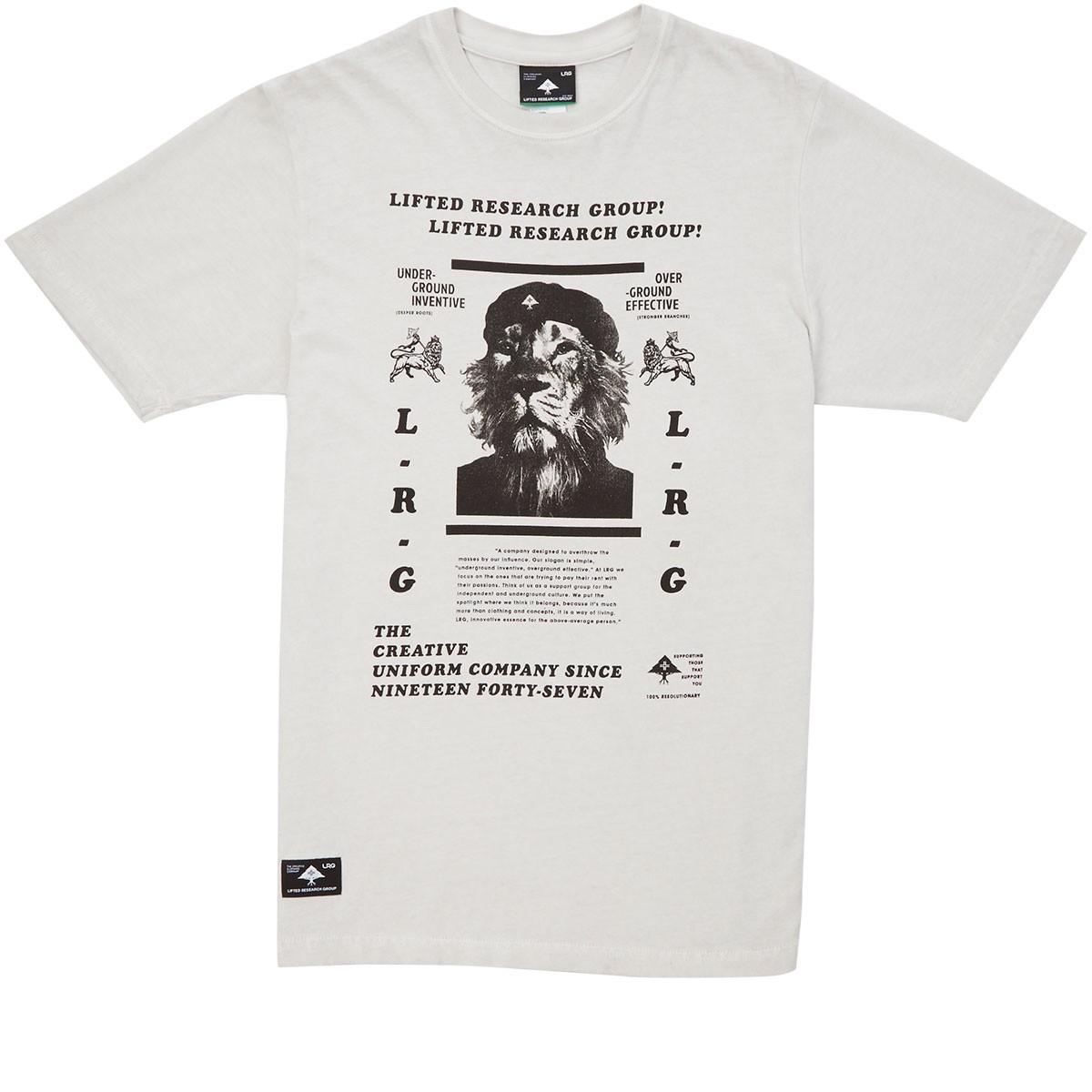 Lrg The Resolution T-shirt Light Ash