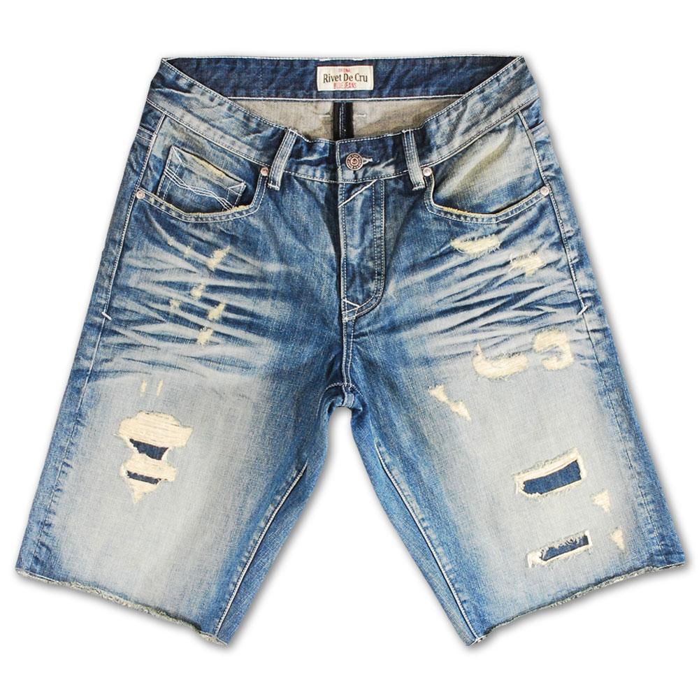 Rivet De Cru Salmon Dream Denim Shorts