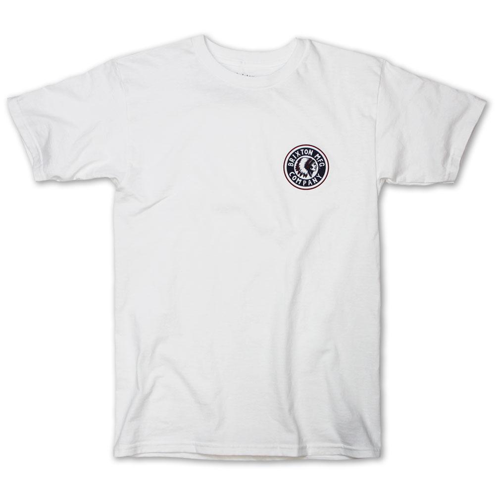 Brixton Rival II T-Shirt White