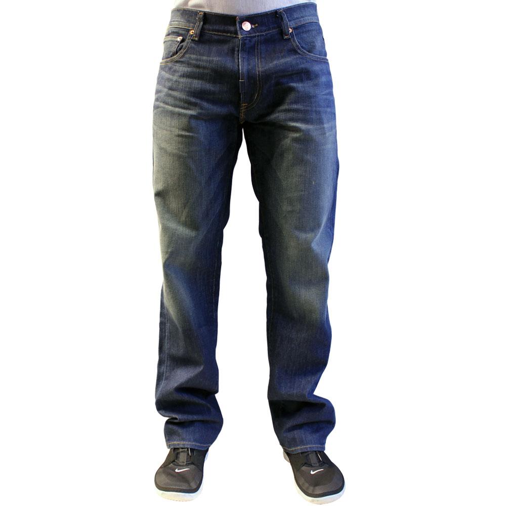 Lrg True Straight Jeans Worn Vintage