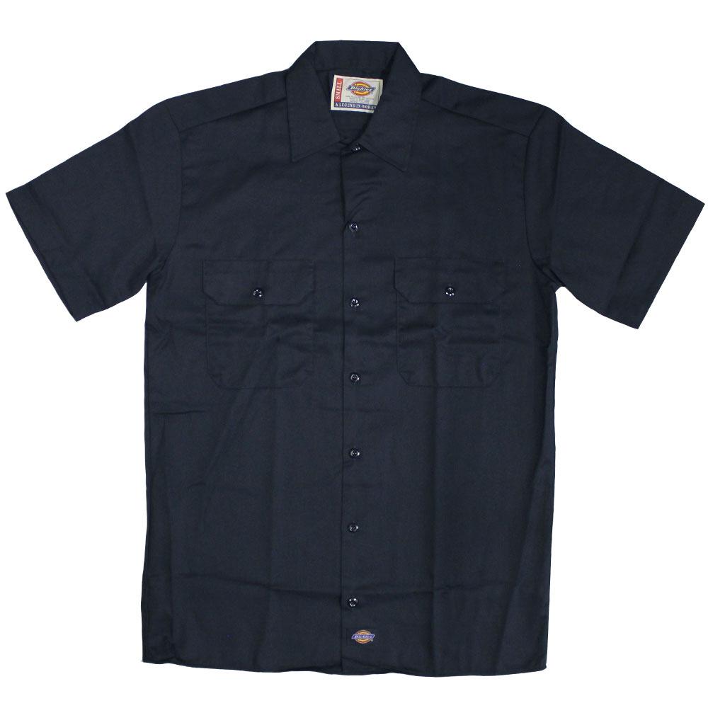 Dickies 1574 Short Sleeve Work Shirt Dark Navy