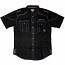 Live Mechanics No Mistakes Short Sleeve Shirt Black
