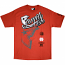 Famous Stars and Straps Rally Fam T-shirt Red White Grey