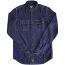 Dickies Blue Collar Long Sleeve Shirt Indigo