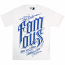 Famous Stars and Straps World Classic T-shirt White Navy