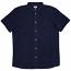 WeSC Eric comfort fit short sleeve shirt Dark Indigo
