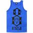 Rebel8 Logo Tank Top Royal