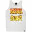 Rebel8 Goo Tank Top White
