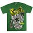 Famous Stars and Straps Daytona T-Shirt Kelly Green Yellow White