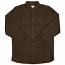 WeSC Niter Long Sleeve shirt dark chocolate