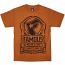 Famous Stars and Straps Standard T-Shirt Texas Orange black