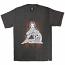 Rebel8 Burst T-shirt Heather Charcoal