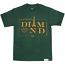 Diamond Supply Co Paris T-shirt Hunter Green