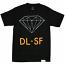 Diamond Supply Co DL-SF T-Shirt Black