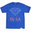 Diamond Supply Co DL-LA T-Shirt Royal