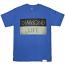 Diamond Supply Co Diamond Life Flag T-shirt Royal