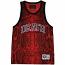Mishka Snake Bite Boa Tank Top Vest Red
