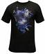 Crooks & Castles Cerulean Camo Medusa T-shirt Black