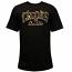 Crooks & Castles Firearm Core Logo T-shirt Black