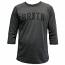 Brixton Hamilton 3/4 Sleeve T-Shirt Washed Black