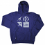Lrg RC Logo Mash Up Pullover Hoodie Navy Heather