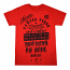 Famous Stars and Straps Love and Respect T-shirt Red