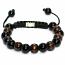 Wooden Beaded Shamballa Bracelet