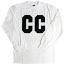 Crooks & Castles Blockade Long Sleeve Crew T-shirt White
