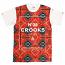 Crooks & Castles Nordic Crew T-Shirt True Red Multi