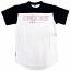 Crooks & Castles Levels Football T-Shirt True Navy White