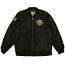 REBEL8 8th Infantry Mens Bomber Jacket Black