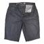 Lrg Monochrome True Straight Denim Walk Shorts Grey Crinkle Wash
