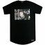 Pink Dolphin Foreign Crop T-Shirt Black