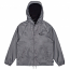 Brixton Tanka Windbreaker Jacket Grey